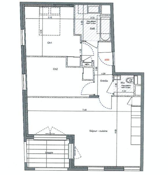 Appartement à vendre 3 63.34m2 à Lyon 4 vignette-6