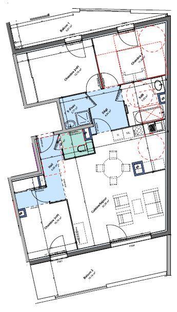 Appartement à louer 4 87.54m2 à Rillieux-la-Pape vignette-1