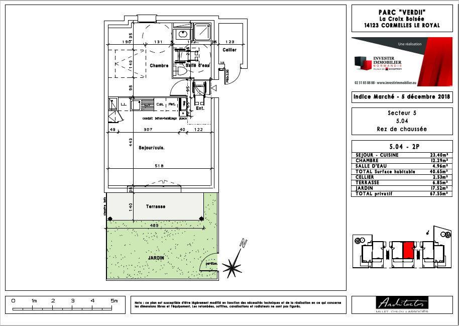 Appartement à louer 2 40.65m2 à Cormelles-le-Royal vignette-8