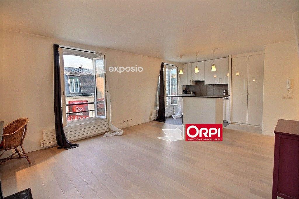 Appartement à louer 1 33m2 à Paris 17 vignette-3