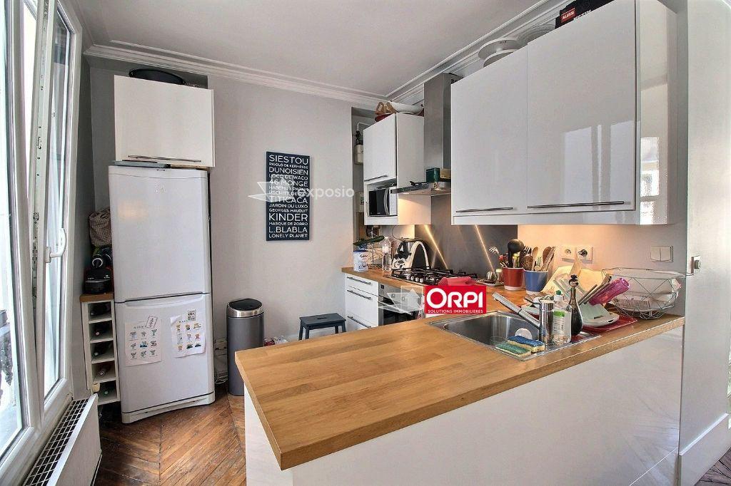 Appartement à louer 3 65m2 à Paris 17 vignette-1