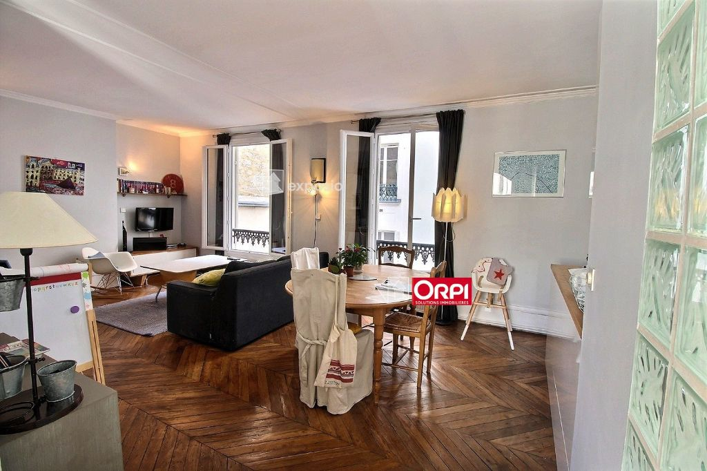 Appartement à louer 3 65m2 à Paris 17 vignette-2