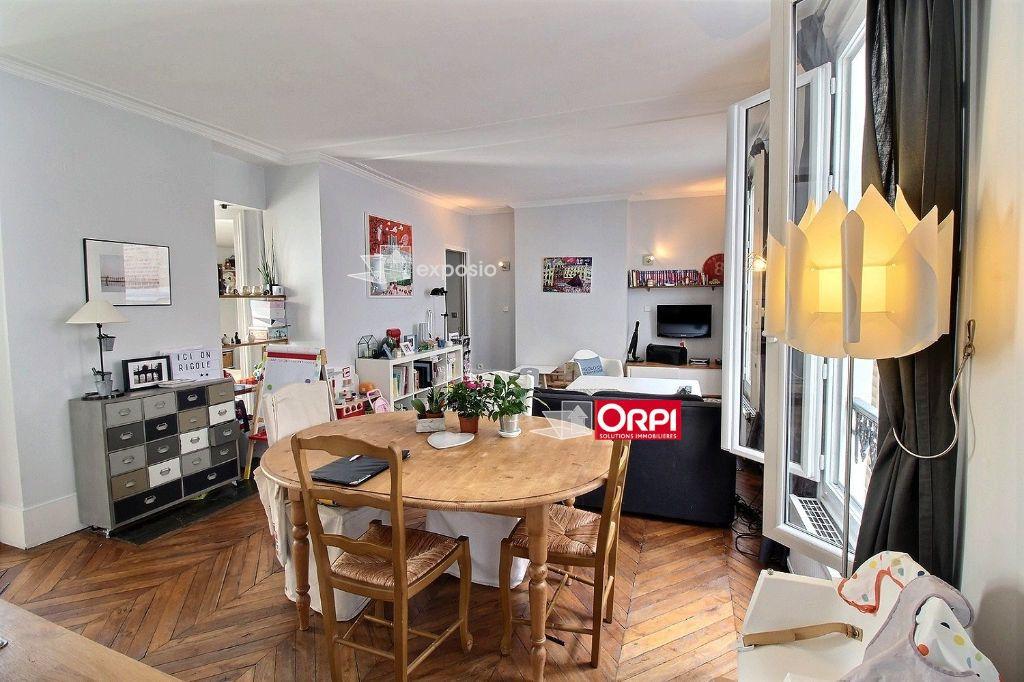 Appartement à louer 3 65m2 à Paris 17 vignette-3