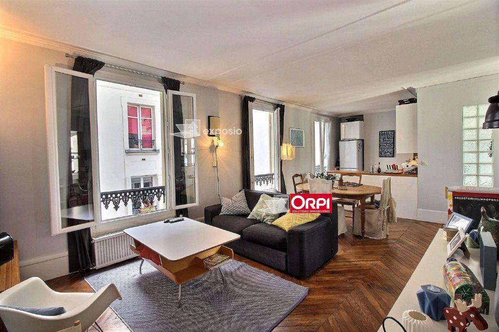 Appartement à louer 3 65m2 à Paris 17 vignette-4