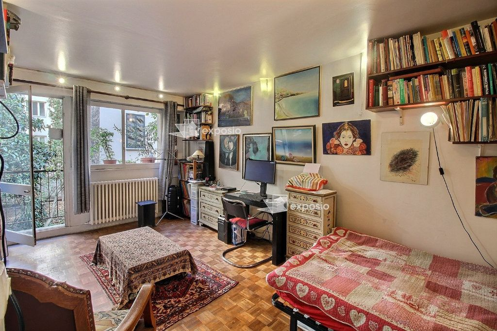 Appartement à vendre 1 26m2 à Paris 18 vignette-1