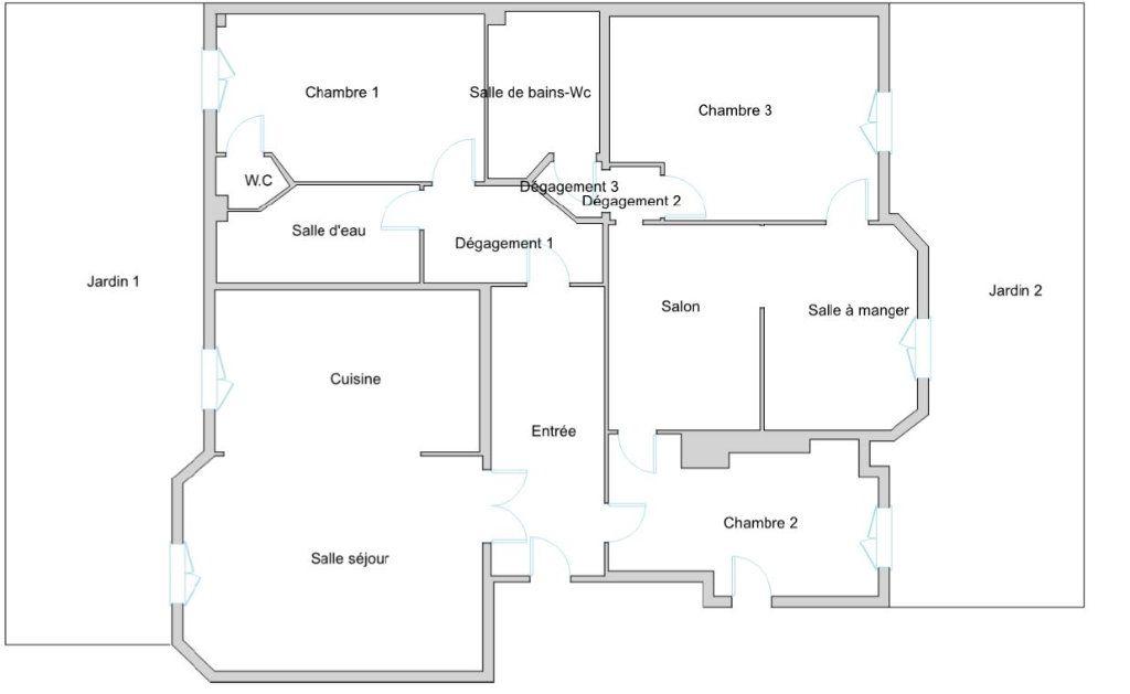 Appartement à vendre 5 135m2 à Paris 17 vignette-13