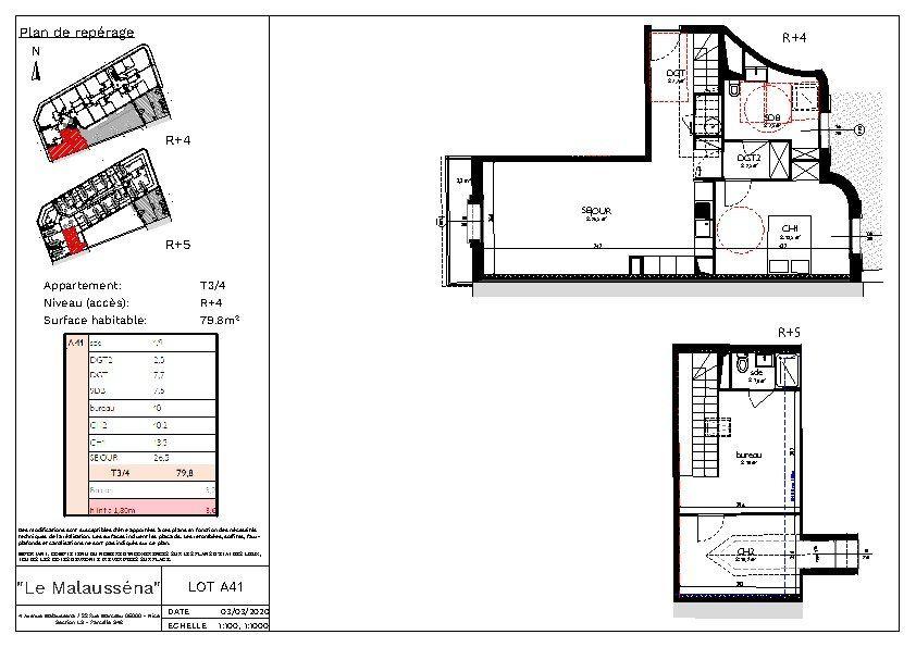 Appartement à vendre 3 80m2 à Nice vignette-3