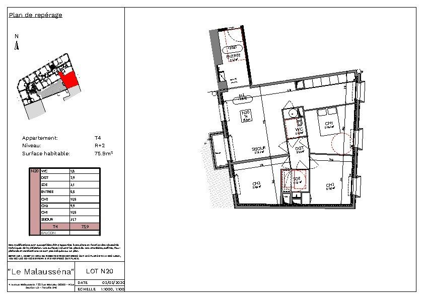 Appartement à vendre 4 76m2 à Nice vignette-3