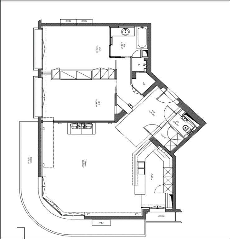 Appartement à vendre 3 101.18m2 à Nice vignette-9