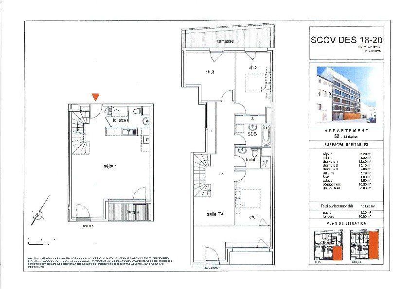 Appartement à vendre 5 115.3m2 à Reims vignette-3