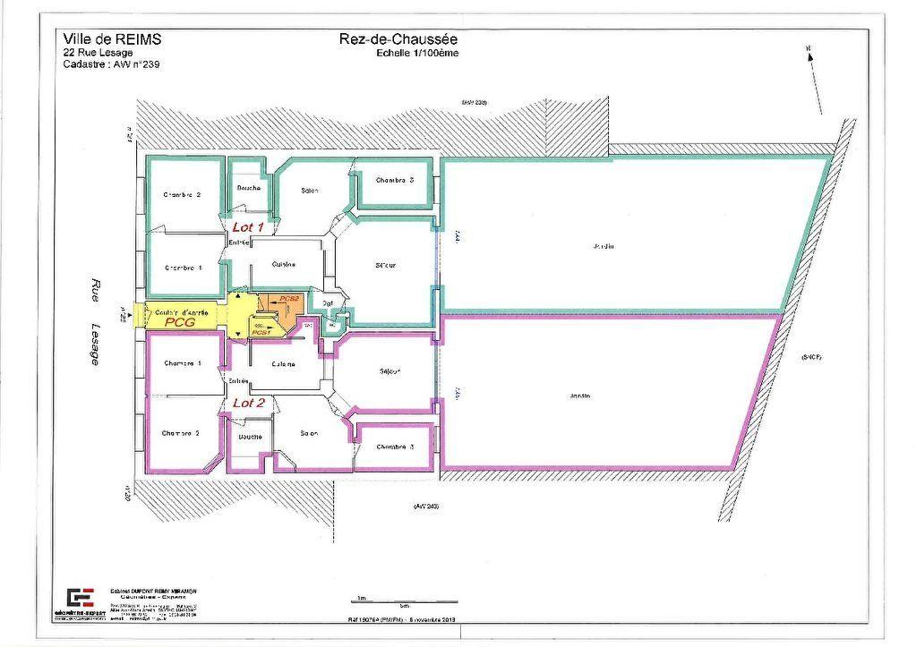 Appartement à vendre 5 90.8m2 à Reims vignette-3