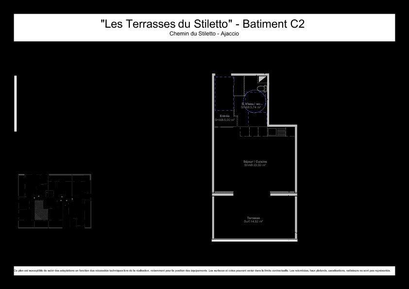 Appartement à vendre 1 33.24m2 à Ajaccio vignette-5