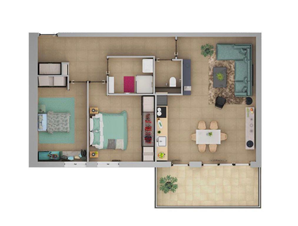 Appartement à vendre 3 71.4m2 à Ajaccio vignette-5