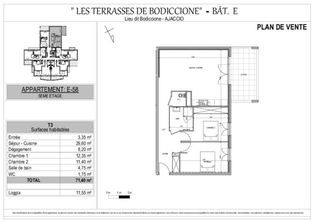 Appartement à vendre 3 71.4m2 à Ajaccio vignette-10
