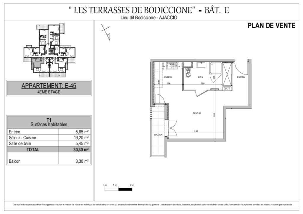 Appartement à vendre 1 30.3m2 à Ajaccio vignette-8