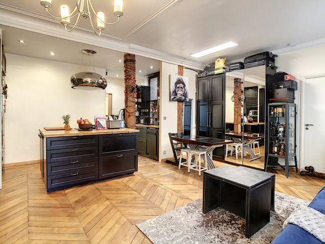 Appartement à vendre 2 50.1m2 à Paris 17 vignette-1