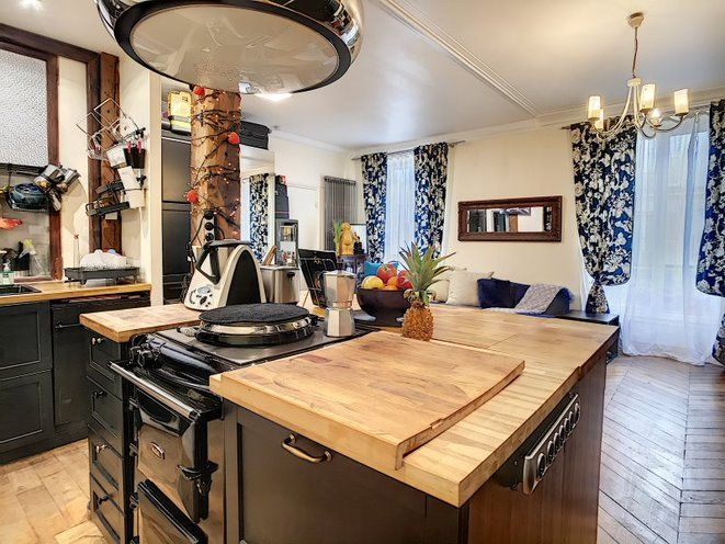 Appartement à vendre 2 50.1m2 à Paris 17 vignette-2