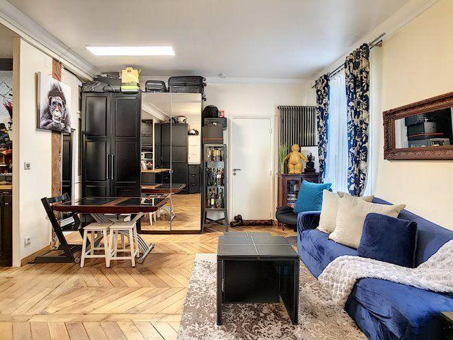 Appartement à vendre 2 50.1m2 à Paris 17 vignette-3