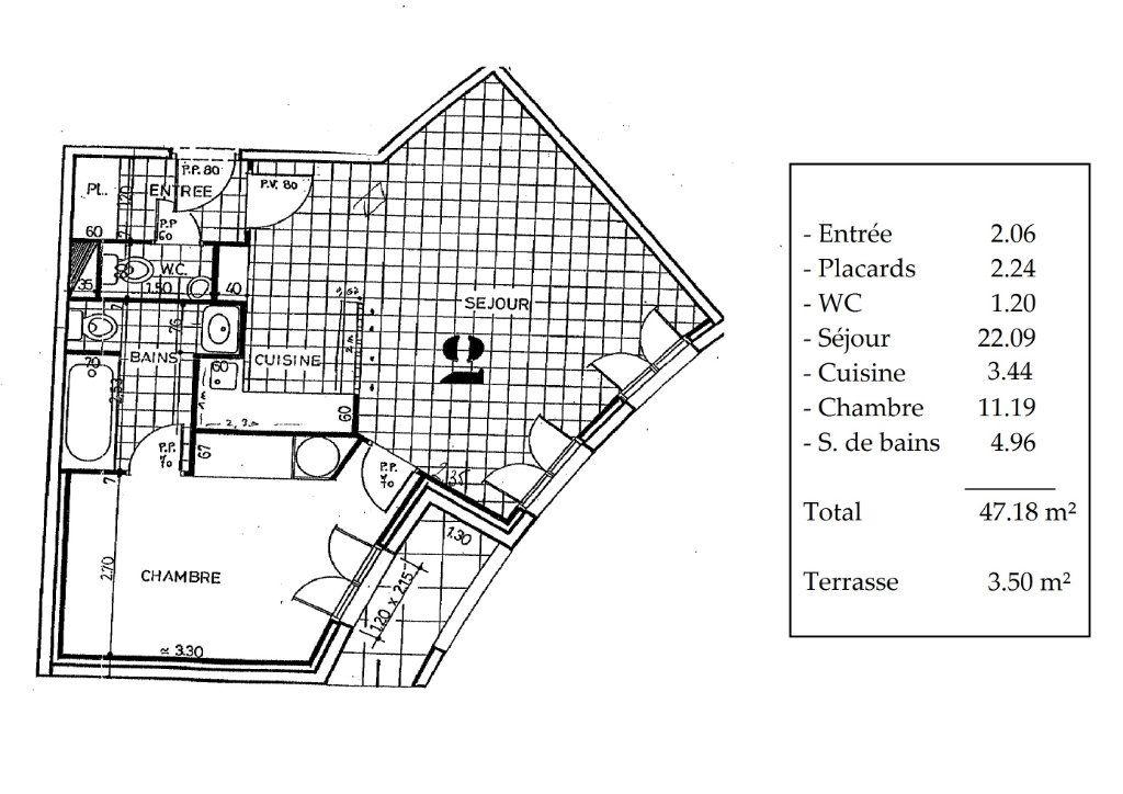 Appartement à louer 2 47m2 à Avon vignette-11