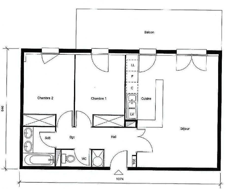 Appartement à vendre 3 60m2 à Fenouillet vignette-3
