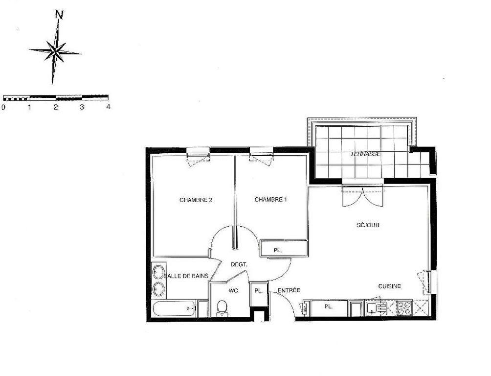 Appartement à vendre 3 56m2 à Launaguet vignette-3