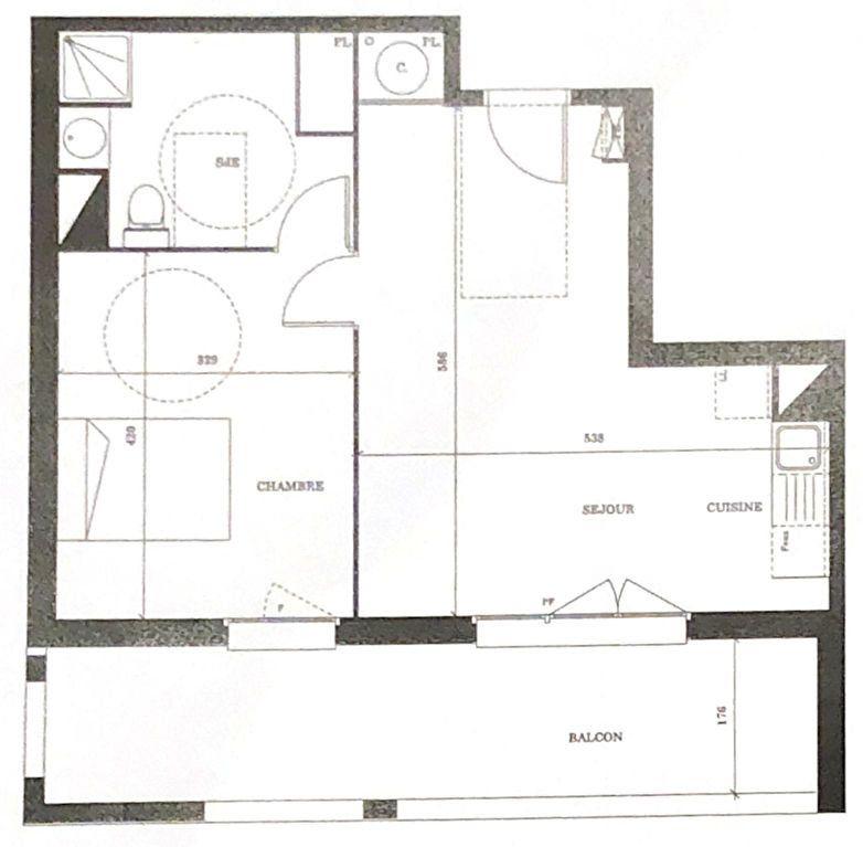 Appartement à vendre 2 45m2 à Launaguet vignette-1