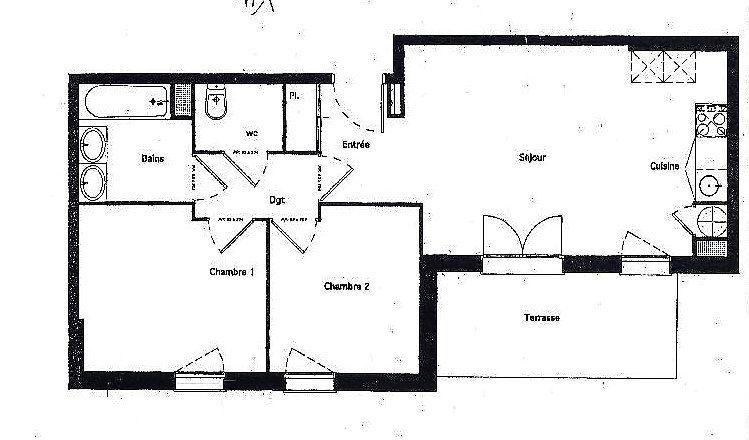 Appartement à vendre 3 56m2 à Aucamville vignette-1