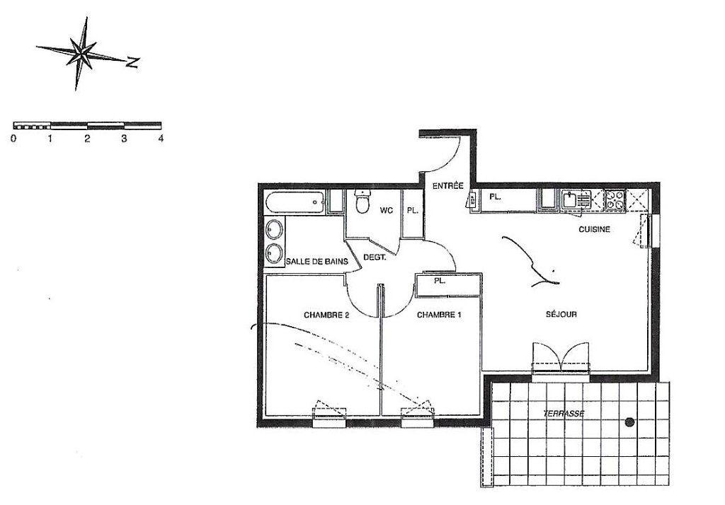 Appartement à vendre 3 58m2 à Launaguet vignette-1