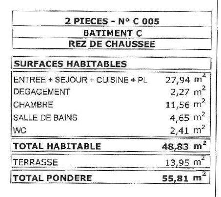 Appartement à vendre 2 49m2 à Montberon vignette-5