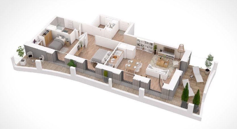 Appartement à vendre 3 62.96m2 à Lyon 2 vignette-6