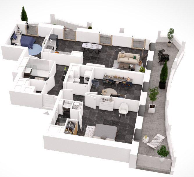 Appartement à vendre 4 101.91m2 à Lyon 2 vignette-6