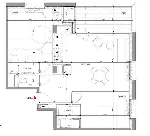 Appartement à vendre 3 71.7m2 à Lyon 2 vignette-4