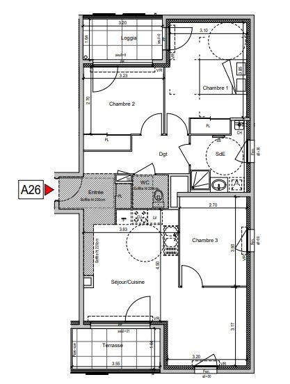 Appartement à vendre 4 76.98m2 à Villeurbanne vignette-5