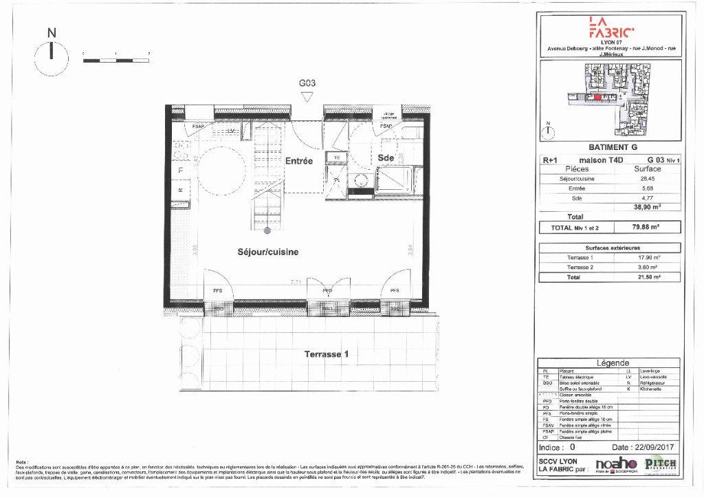 Maison à vendre 4 80m2 à Lyon 7 vignette-10