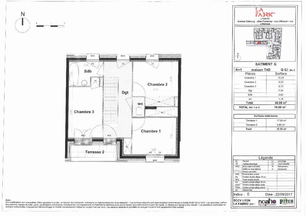 Maison à vendre 4 80m2 à Lyon 7 vignette-11