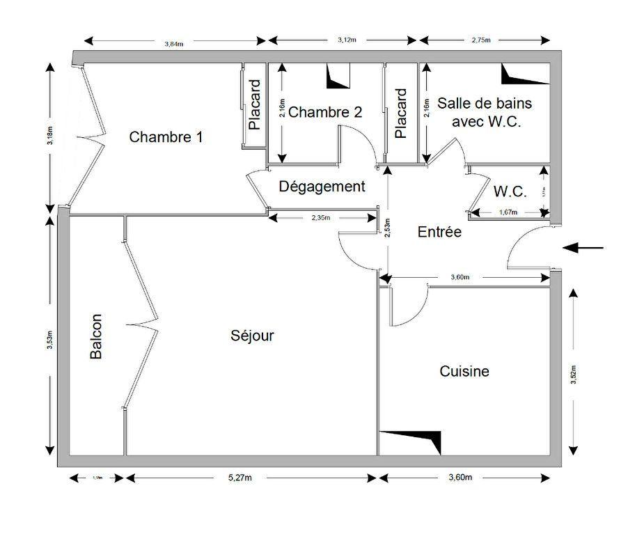Appartement à vendre 2 59.7m2 à Menton vignette-14