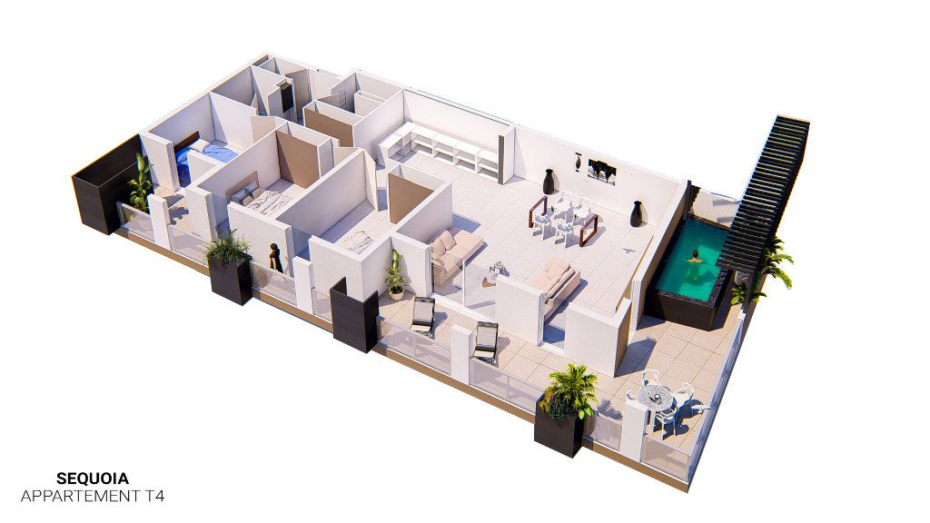 Appartement à vendre 4 82.75m2 à Frontignan vignette-2