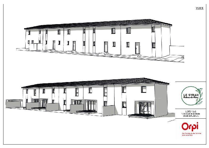 Maison à vendre 4 75.53m2 à Balaruc-les-Bains vignette-1