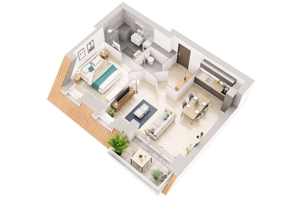 Appartement à vendre 2 49.2m2 à Dunkerque vignette-3