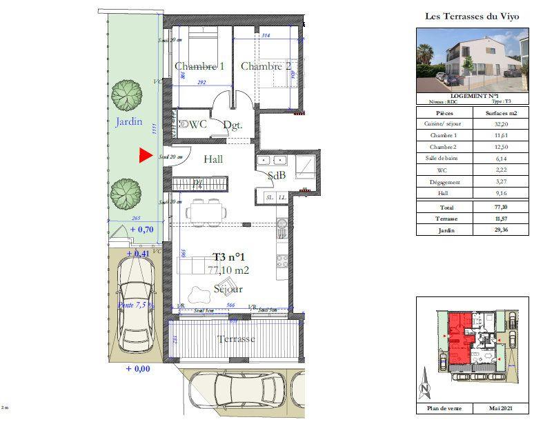 Appartement à vendre 3 77.1m2 à Carqueiranne vignette-1