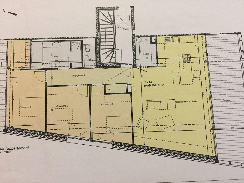 Appartement à vendre 4 109.55m2 à Thann vignette-9