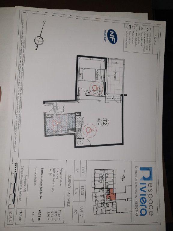 Appartement à vendre 2 48.51m2 à Nice vignette-3