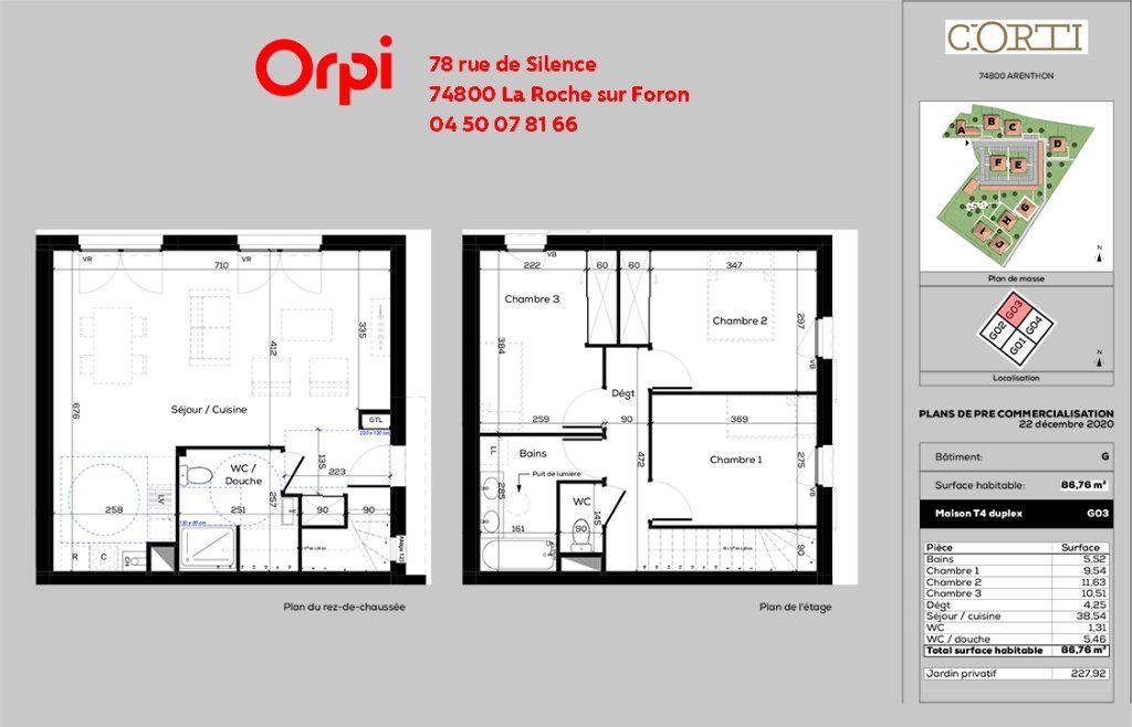 Maison à vendre 4 87m2 à Arenthon vignette-6