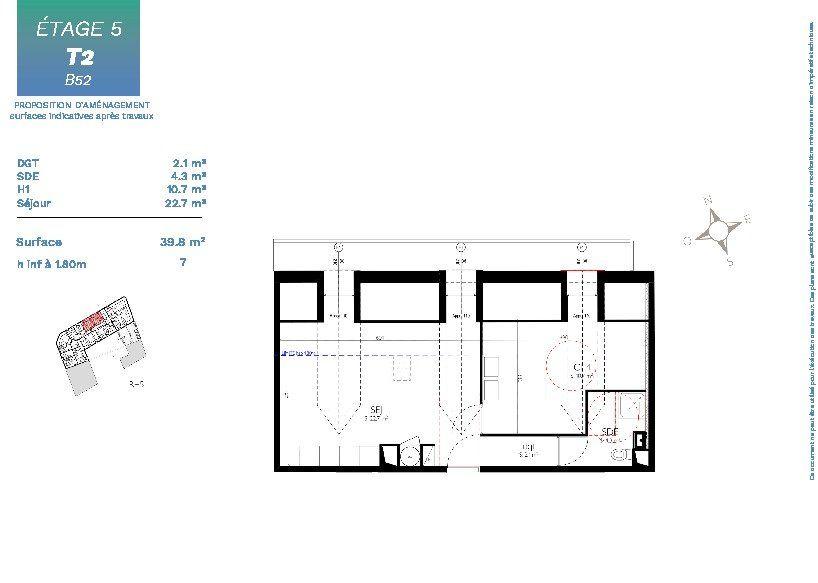 Appartement à vendre 1 34m2 à Nice vignette-2