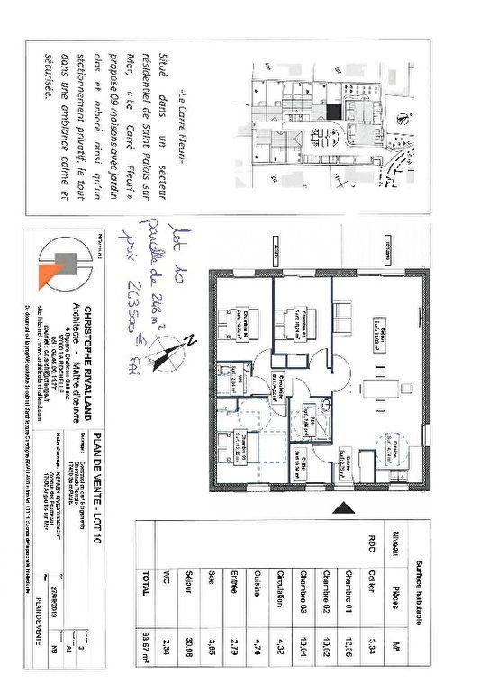 Maison à vendre 4 84m2 à Saint-Palais-sur-Mer vignette-3