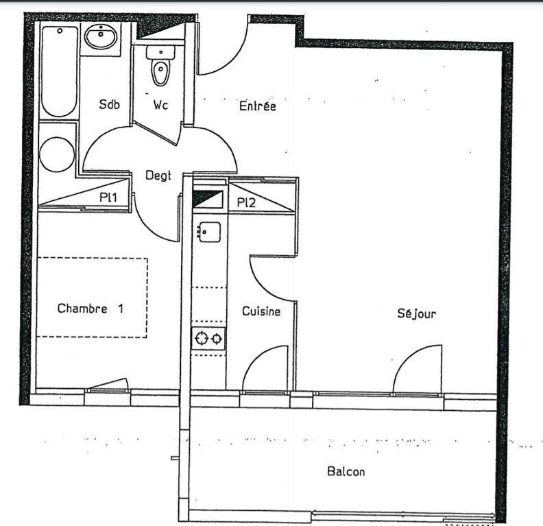 Appartement à vendre 2 48m2 à Poitiers vignette-6