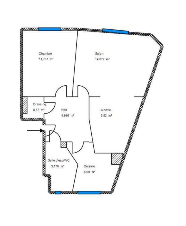 Appartement à vendre 2 44.71m2 à Cannes vignette-15