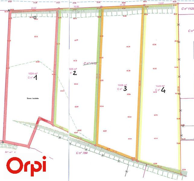 Terrain à vendre 0 1024m2 à Bourg-et-Comin vignette-2