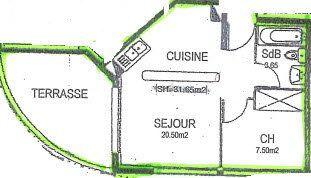 Appartement à vendre 2 31.7m2 à Istres vignette-2