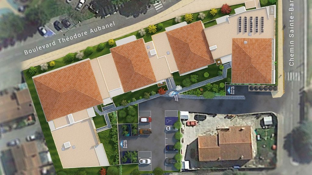Appartement à vendre 2 45m2 à Draguignan vignette-4